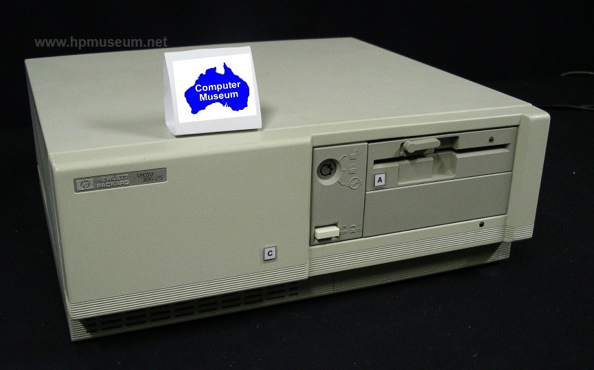 HP Vectra 386/25 - the 25 MHz speed machine